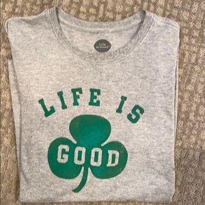 Life is Good men's long sleeve tee